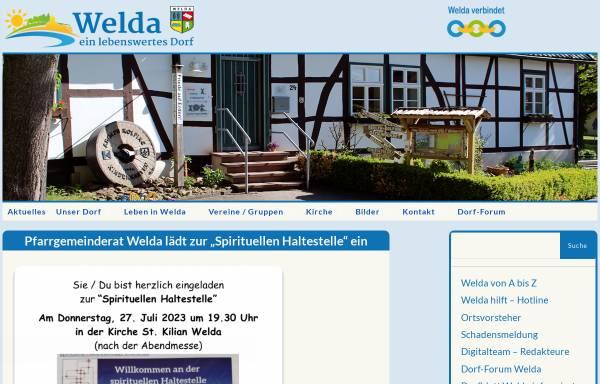 Vorschau von welda.de, Welda