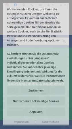 Vorschau der mobilen Webseite www.schaub-handwerk.de, Herbert Schaub Sanitär & Heizungstechnik GmbH