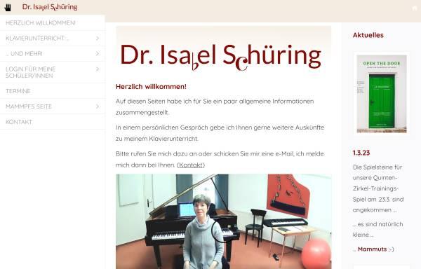 Vorschau von www.klavierunterricht-in-ahlen.de, Klavierunterricht, Dr. Isabel Schüring