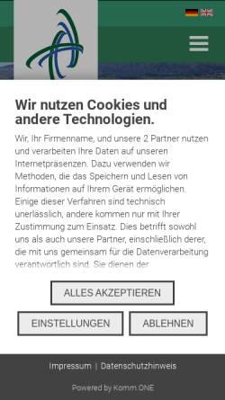 Vorschau der mobilen Webseite www.aldingen.de, Gemeinde Aldingen