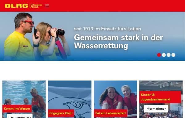 Vorschau von altbach.dlrg.de, DLRG Ortsgruppe Altbach