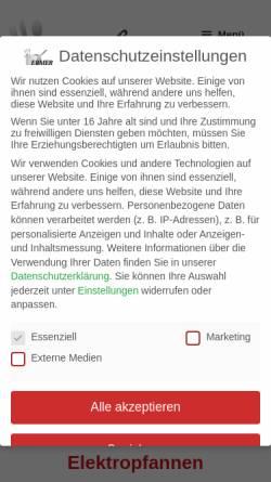 Vorschau der mobilen Webseite ermer-haushalt.de, Gregor Ermer Haushaltsausstattung