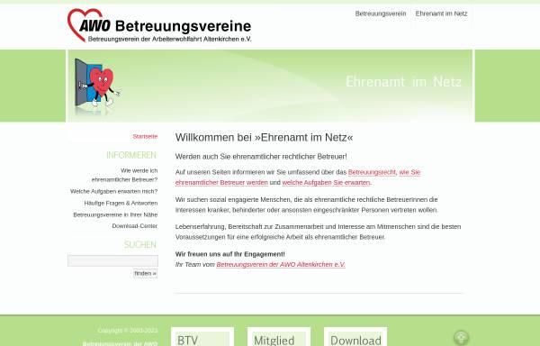 Vorschau von ehrenamt-im-netz.de, Betreuungsverein der AWO Altenkirchen e.V.