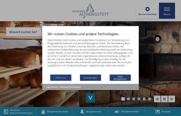 Vorschau von www.althengstett.de, Althengstett