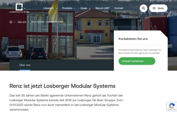 Vorschau von www.renz-container.com, Renz GmbH