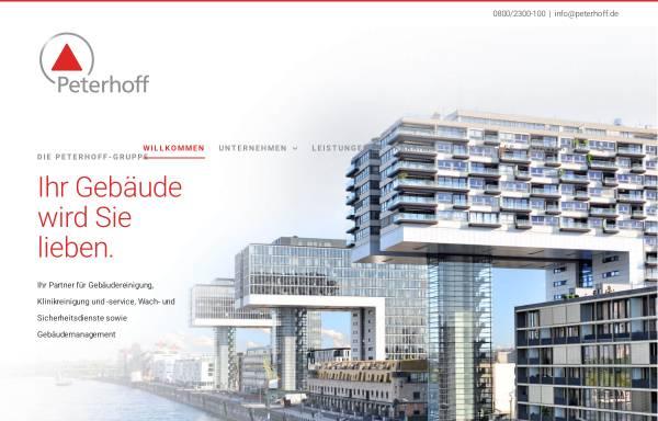 Vorschau von www.peterhoff.de, F. J. Peterhoff GmbH