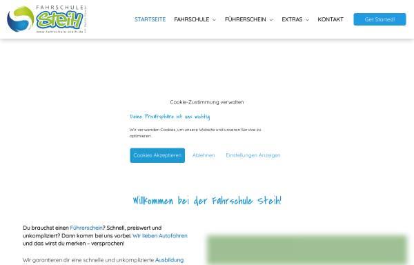 Vorschau von www.fahrschule-steih.de, Fahrschule Steih