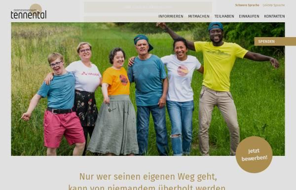 Vorschau von www.tennental.de, Dorfgemeinschaft Tennental
