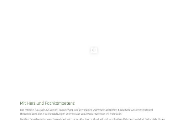 Vorschau von www.fbdiemelstadt.de, Feuerbestattungen Diemelstadt w.V.
