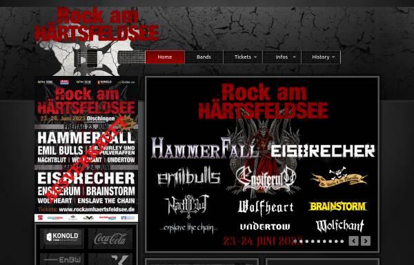 Vorschau von www.rockamhaertsfeldsee.de, Rock am Härtsfeldsee