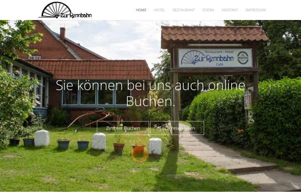 Vorschau von www.hotel-zur-rennbahn.de, Hotel-Restaurant zur Rennbahn