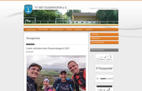 Vorschau von www.tv-dudenhofen.de, TV-Dudenhofen