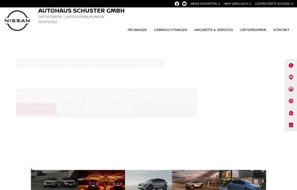 Vorschau von www.autohaus-schuster.de, Autohaus Schuster GmbH
