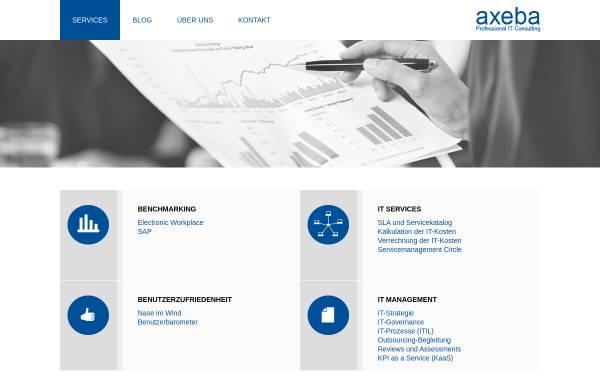 Vorschau von www.axeba.ch, Axeba AG