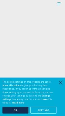 Vorschau der mobilen Webseite www.icontel.com, Icontel AG