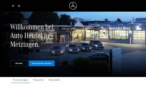 Vorschau von www.mercedes-benz-heusel.de, Auto Heusel GmbH & Co. KG