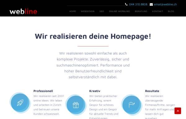 Vorschau von webline.ch, Webline