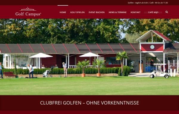 Vorschau von www.golfcampus.de, Golf Campus