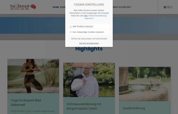 Vorschau von www.tourismus-bad-liebenzell.de, Bad Liebenzell