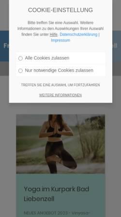 Vorschau der mobilen Webseite www.tourismus-bad-liebenzell.de, Bad Liebenzell
