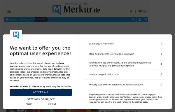 Vorschau von www.merkur-online.de, Tölzer Kurier