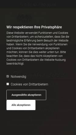 Vorschau der mobilen Webseite www.hanshermannbuscher.de, Weingut Hans Hermann Buscher