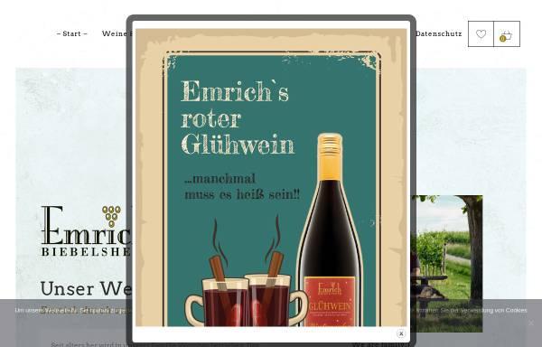 Vorschau von www.weingut-emrich.de, Weingut Fred Emrich