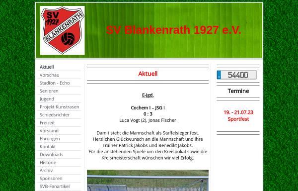 Vorschau von fussballverein-blankenrath.de, SV Blankenrath e.V. 1927