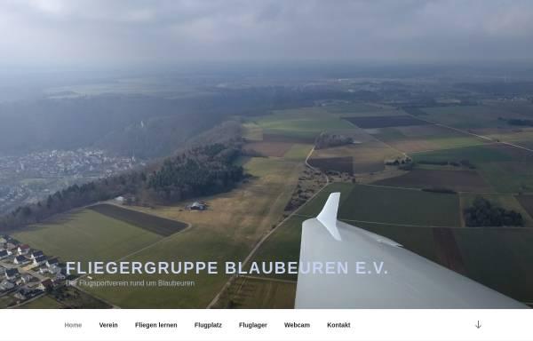 Vorschau von www.flgblaubeuren.org, Fliegergruppe Blaubeuren e. V.