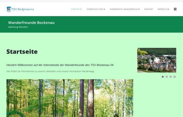 Vorschau von www.ivv-bockenau.de, TSV Bockenau 1904 e.V.