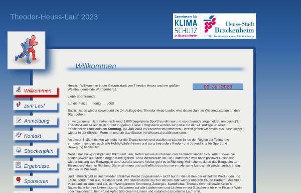 Vorschau von www.theodor-heuss-lauf.de, Theodor-Heuss-Lauf