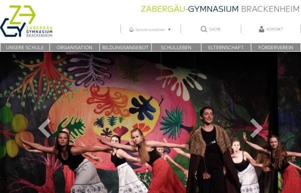 Vorschau von www.zagy.de, Zabergäu-Gymnasium Brackenheim