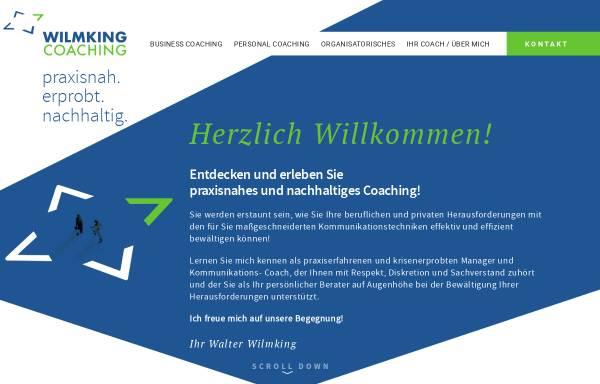 Vorschau von www.wilmking-ic.de, Wilmking International Consulting