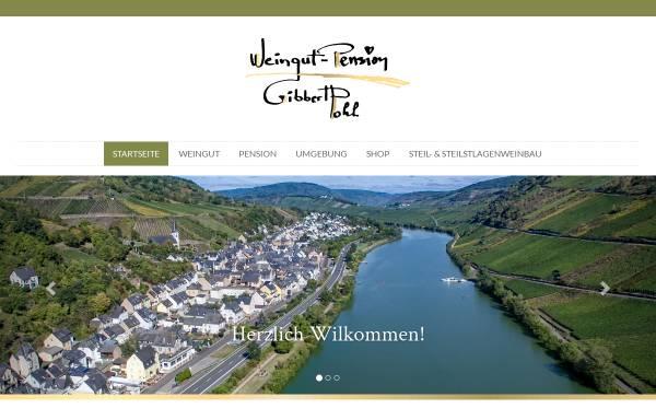 Vorschau von www.gibbert-pohl.de, Pension Weingut Gibbert-Pohl