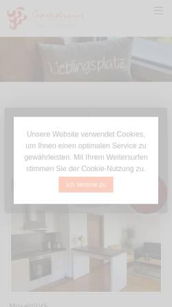 Vorschau der mobilen Webseite www.briedel-rees.de, Weinbau-Gästehaus Rees