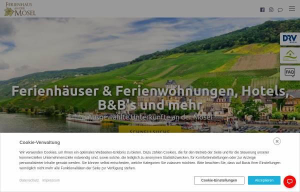Vorschau von www.ferienhaus-untermosel.de, Das Ferienhaus im Ehrenburgertal - Familie Blum