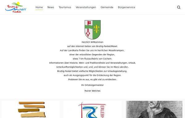 Vorschau von www.bruttig-fankel.de, Ortsgemeinde Bruttig-Fankel