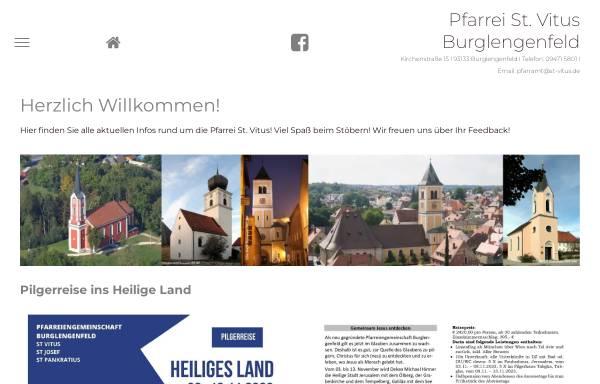Vorschau von www.st-vitus.de, Pfarrgemeinde St. Vitus Burglengenfeld