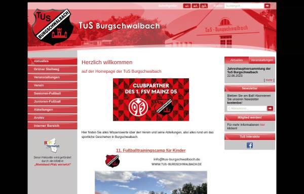 Vorschau von www.tus-burgschwalbach.de, TuS Burgschwalbach
