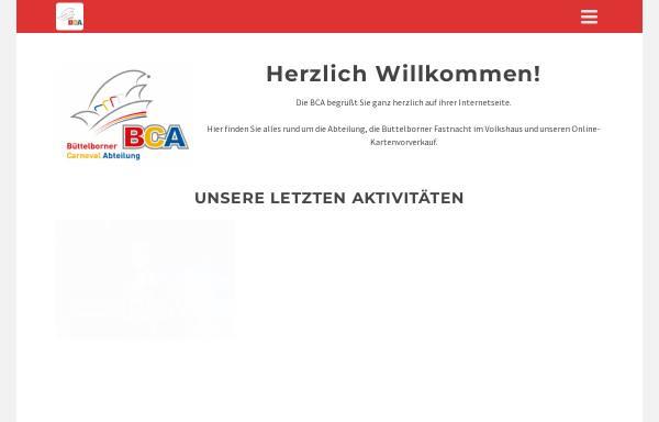 Vorschau von bca-buettelborn.de, Büttelborner Carneval Abteilung