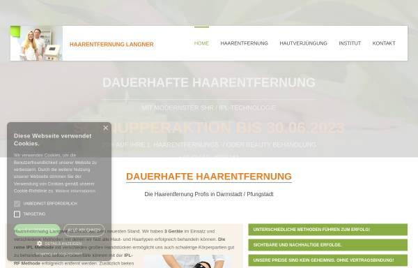 Vorschau von www.haarentfernung-hessen.de, Studio für dauerhafte Haarentfernung und Antiaging Inge Förste