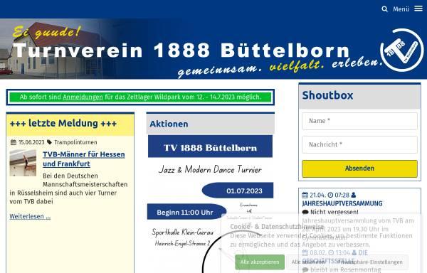Vorschau von www.tvbuettelborn.de, Turnverein 1888 e.V. Büttelborn
