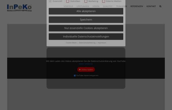Vorschau von www.baugruppenmontage.com, InPeKo technologies