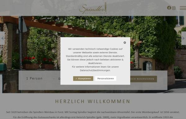 Vorschau von www.gutsausschank-spindler.de, Gutsausschank Spindler