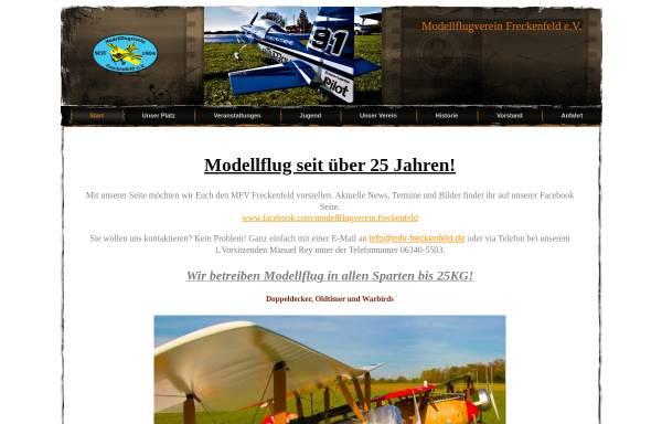 Vorschau von www.mfv-freckenfeld.de, Modellflugverein Freckenfeld e.V.
