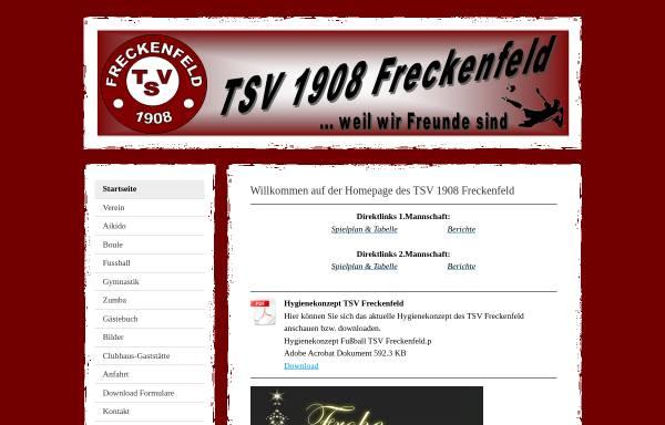 Vorschau von tsv1908freckenfeld.jimdo.com, TSV 1908 Freckenfeld