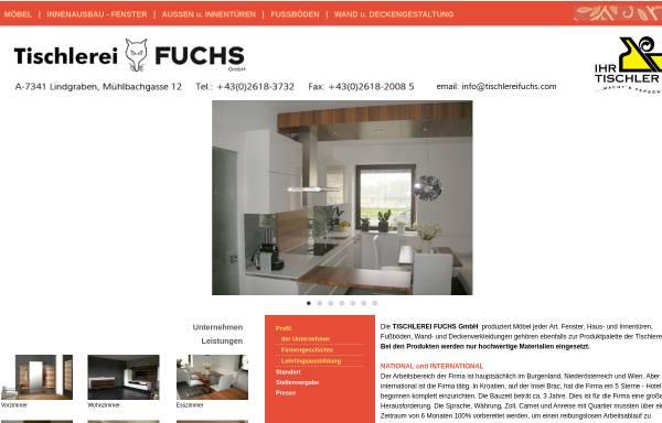 Vorschau von www.tischlereifuchs.com, Tischlerei Fuchs GmbH