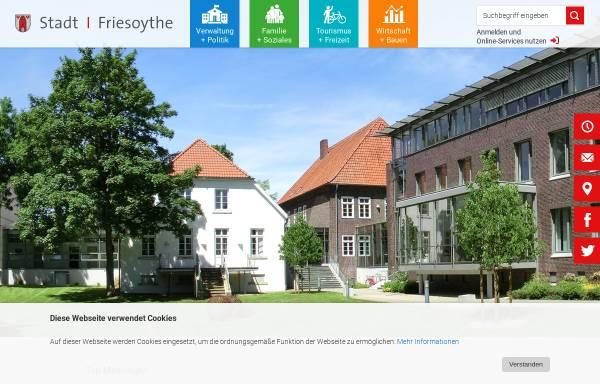 Vorschau von www.friesoythe.de, Stadt Friesoythe