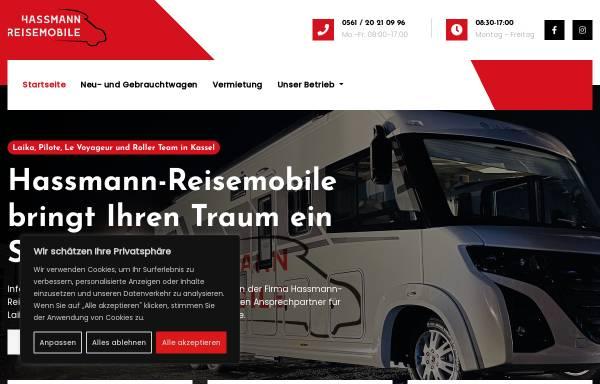 Vorschau von www.wohnmobilvermietung-fuldatal.de, Hassmann Reisemobile