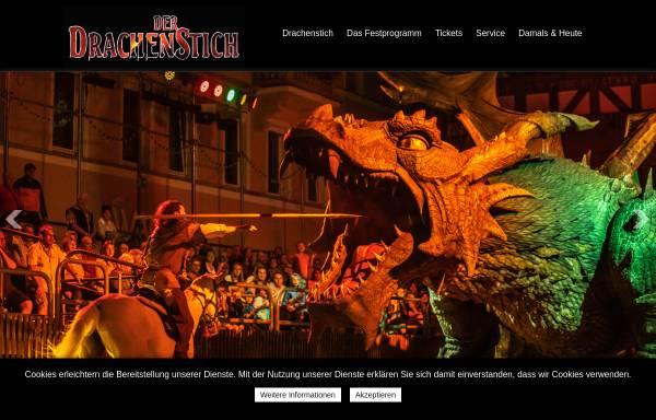 Vorschau von www.drachenstich.de, Der Drachenstich - historisches Festspiel in Futh im Wald